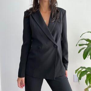 Jaygodfrey one piece conway black tuxedo jumpsuit